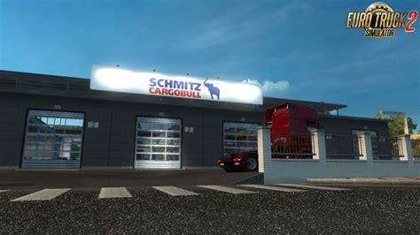 Bor Schmitz schmitz cargobull garage board for ets2 187 ets 2 mods truck mods truck simulator 2