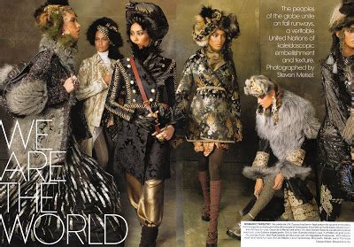 Styling Deluxe We Are The World Editorial By Steven