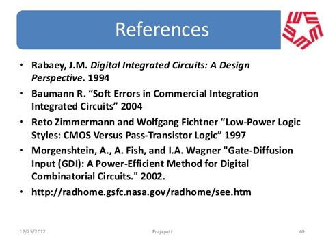 j m rabaey digital integrated circuits a design perspective prentice thesis slides