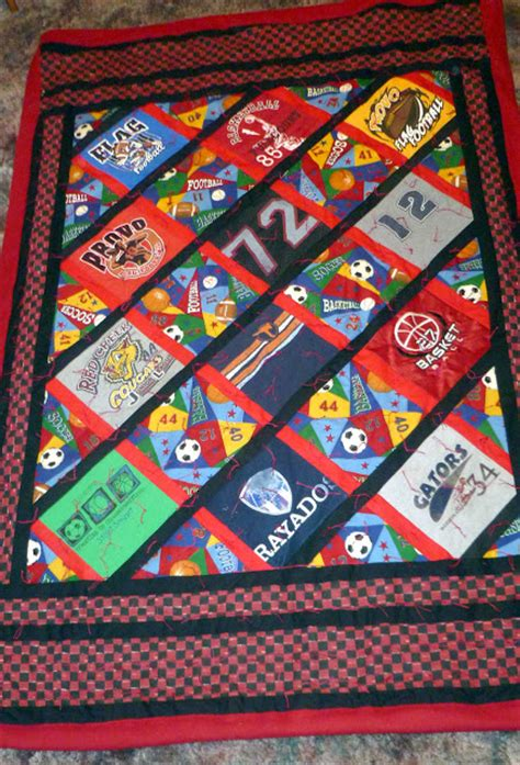 T Shirt Quilt Step By Step by Quilts N Quirks T Shirt Memory Quilts Step By Step