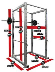 power rack measurements and dimensions power rack