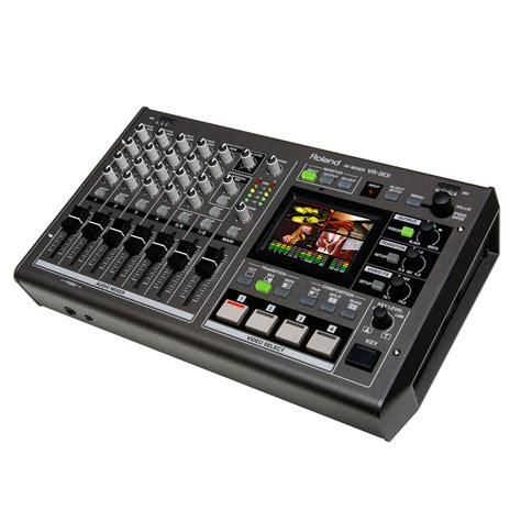 Roland Edirol Vr 3ex Mixer Roland Vr 3ex 4 Channel Switcher Mixer At Gear4music
