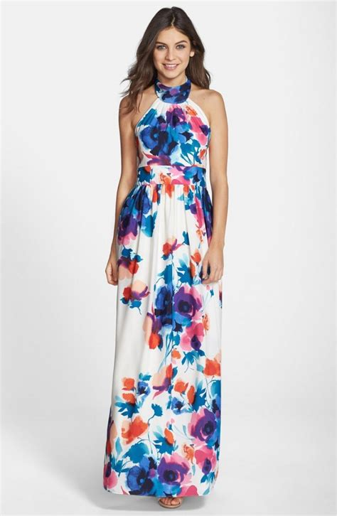 Claranti Abstract Flare Maxi Dress 13 guest of dresses to get you through wedding season