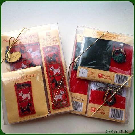 Souvenir Cross Pack Tas Anak cross stitch kit scotties westies gift pack textile heritage knituk