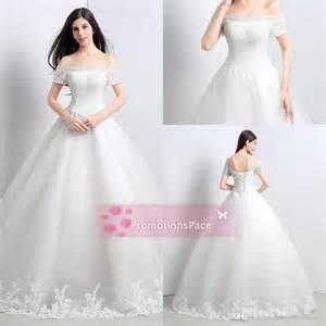 aline wedding dresses 2015 off shoulder short