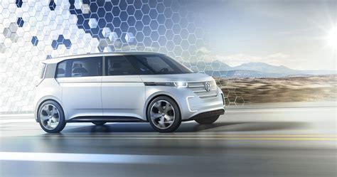 volkswagen electric concept 2016 volkswagen budd e concept conceptcarz com