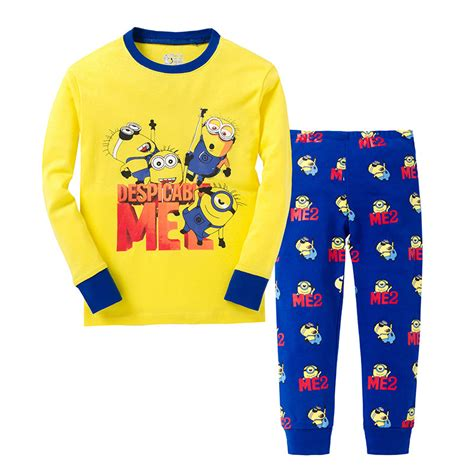 Piyama Pp Minion compra pjs chaqueta al por mayor de china
