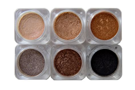 caked cosmetics nevada collection of six