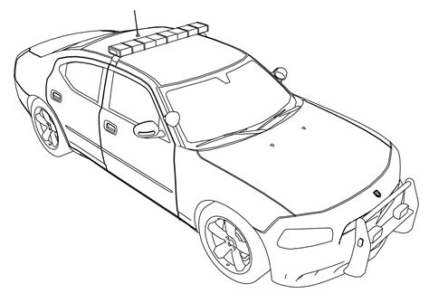coloring pages of police cars police car coloring pages to download and print for free