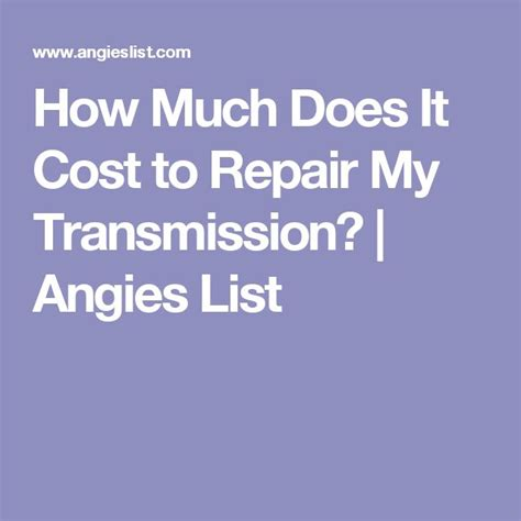 how much does it cost to replace a solenoid on transmission how much does it cost to replace a honda accord