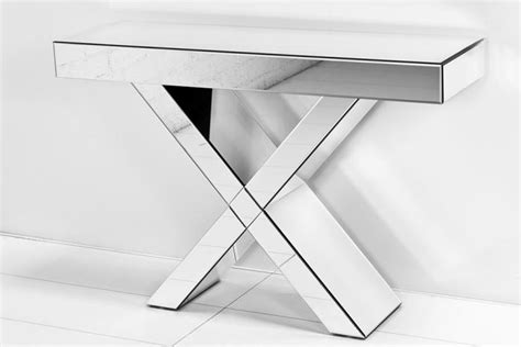 X Leg Console Table Www Roomservicestore Regency X Leg All Mirror Console Table