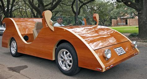 wooden car these wooden cars by israeli veteran are street legal