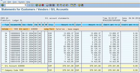 layout sap report sap fi standard reports your reporting requirements
