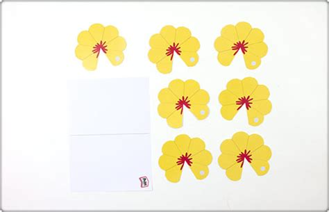 flower pop up card template free pop up flower card