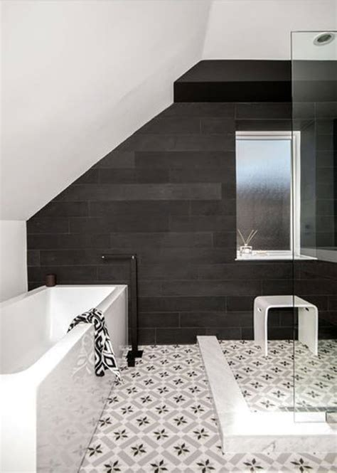 black and white mosaic tile bathroom 37 black and white mosaic bathroom floor tile ideas and