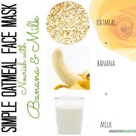 oatmeal mask diy diy oatmeal mask recipes bellatory