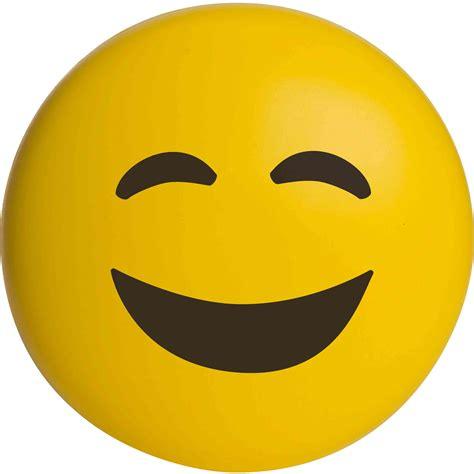 happy face emoji stress reliever custom stress balls