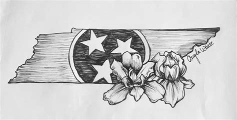 tennessee tattoos designs 25 best ideas about state tattoos on