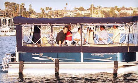 newport beach pontoon rentals pontoon boat rental newport pontoons groupon