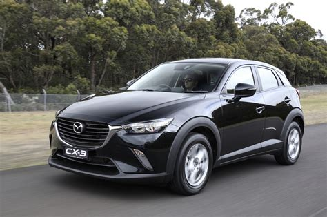 mazda cx3 black the motoring world mazda launches the new 2016 model year