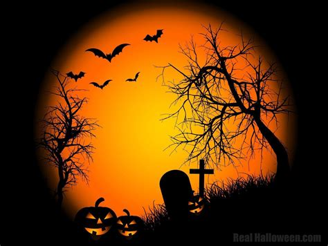 desktop themes halloween free halloween backgrounds wallpaper cave