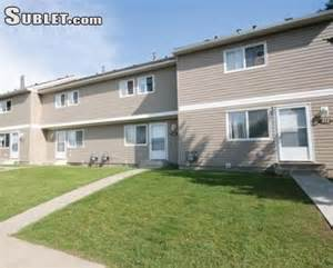 edmonton downtown unfurnished 3 bedroom townhouse for rent