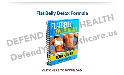The Flat Belly Detox Formula by Flat Belly Overnight Review Results I Ll Show You Inside