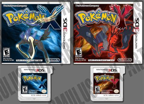resetting game pokemon y pokemon x pokemon y alt box art 2 nintendo 3ds box art