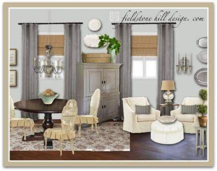 ideas kitchen paint colors country dining rooms