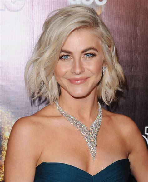 hot to style julianna hough bob short haircuts how to style a bob in textured waves