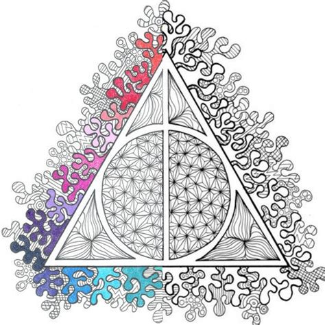 harry potter coloring books pdf harry potter deathly hallows pdf coloring page