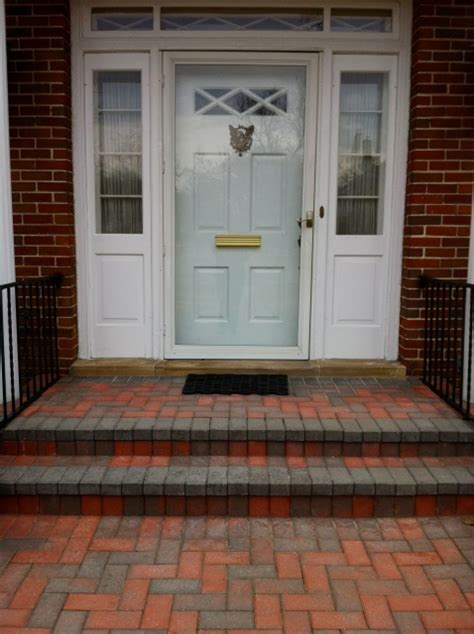 Brick Front Porch Steps Brick Steps Front Porch For The Home