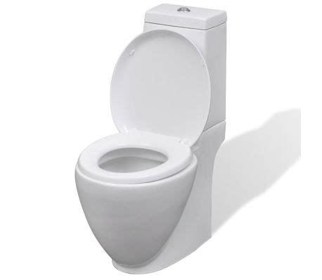 sphinx toilet spoelknop vidaxl toilet rond keramisch wit online kopen vidaxl nl