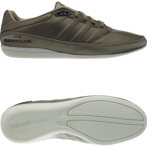 adidas porsche typ 64 s low top sneakers black or brown casual shoes new ebay