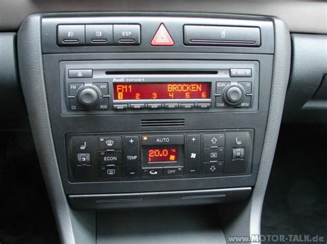 Audi A4 Radio by Radio Klimabedienteil Audi A4 B5 Probleme Bei Ausbau Des