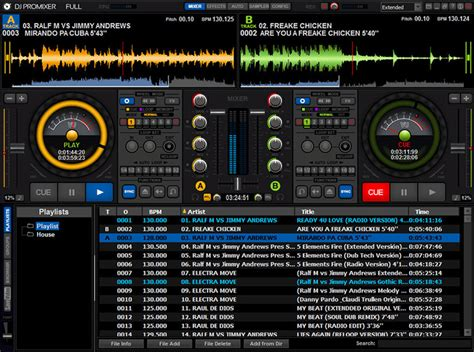 dj software free download full version deutsch dj promixer free home edition download