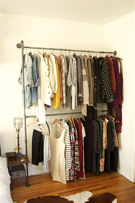 diy pipe clothing rack for the home