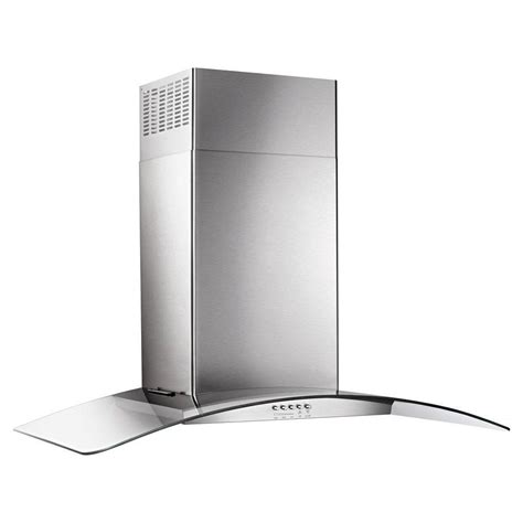 wall range whirlpool 36 in concave glass wall mount range in