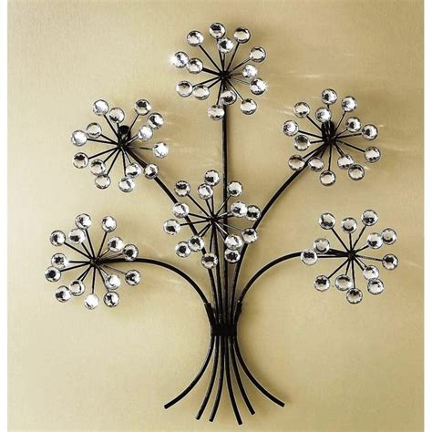 decorative floral accents wall ornament decoration for wall art designs home decor wall art metal wall