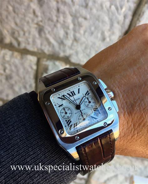 Cartier Santos 100xl cartier santos 100xl chronograph stainless steel 2740