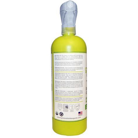 green shield bathroom cleaner greenshield organic bathroom cleaner bergamot mint