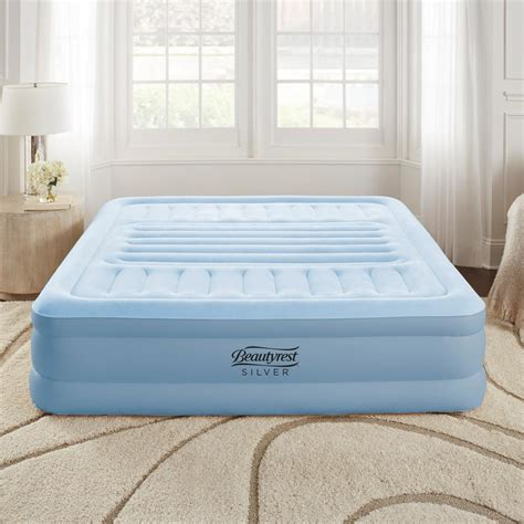 simmons beautyrest beautyrest silver lumbar supreme air mattress with adjustable lumbar