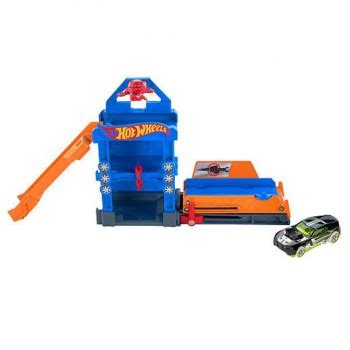 Mainan Track Wheels Track Builder Turn Kicker Die Cast Ori dotstoyland delivery on the spot