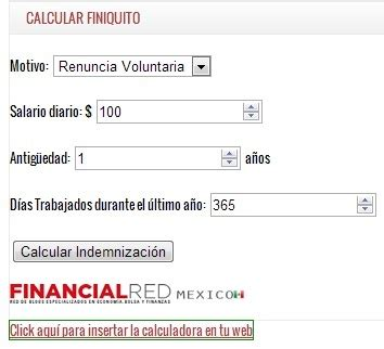 calculo finiquito 2016 calculo finiquito 2016 en mexico calculo finiquito 2016