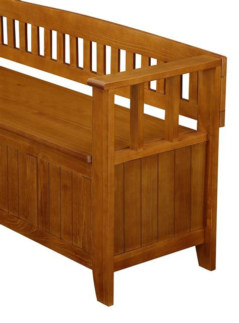 simpli home acadian entryway storage bench amazon com simpli home acadian entryway bench light