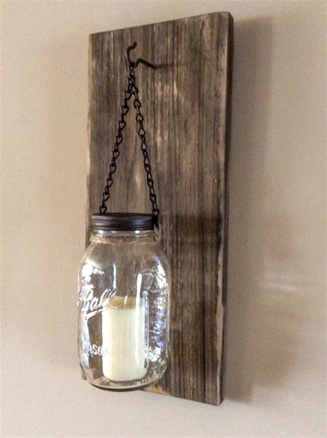 Bottle Rustic Wall Sconce : How To Build Rustic Wall