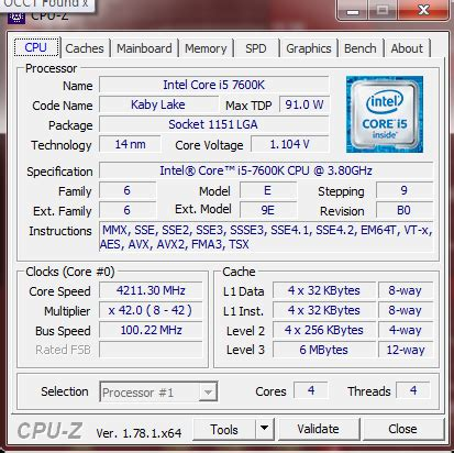 Intel Prosesor I5 6600 33g 1151 Cache 8mb Box the intel i5 7600k 91w review the more amenable