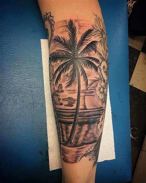 palm tree sleeve tattoo designs palm tree tattoo 24 jpg 1080 215 1349 tatt