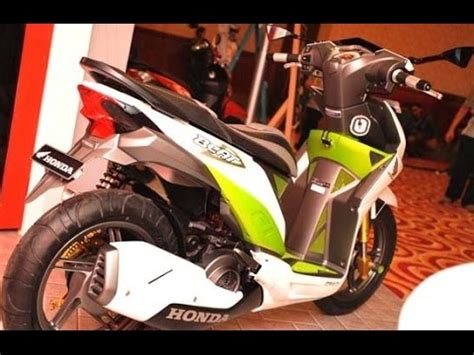 Lu Led Putih Motor Beat honda beat modif led doovi