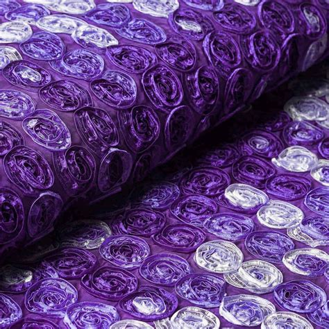 Purple 46 Fab Products by 54 Quot X4 Yards Mini Rosettes Multi Color Fabric Bolt